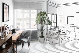 Foto: Designer-Wohnung