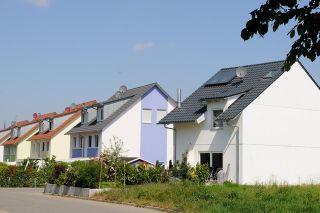Foto: Häuser-Reihe
